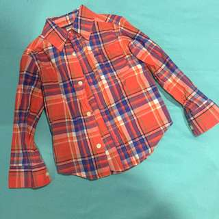 Carters Red Longsleeves (size 2T, used once for birthday party, bought in USA)