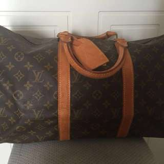 Louis Vuitton Vintage Monogram Keepall 50 Travel Bag
