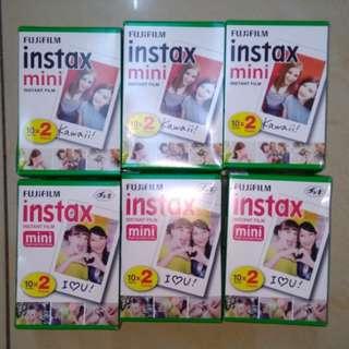 Instax mini plain films Twin pack 20 PCS