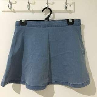 Denim Skirt - Size 8/10