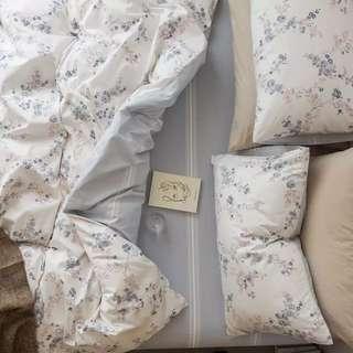 純棉100%簡約森林系花朵床包組🌹
