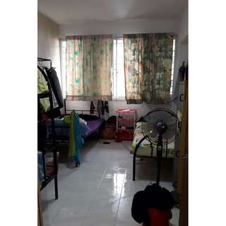 Bed for male room rent with Wi Fi