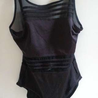 Black Swimsuit ( Baju Renang )
