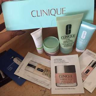 Clinique Skin care Products/Delux Samples