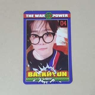 EXO Baekhyun Official Power Photocard