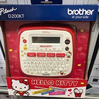 Hello Kitty Label Printer