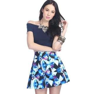 Fayth georgia skirt worn once Size S