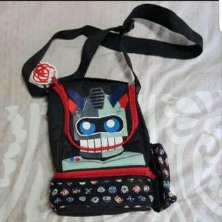 2811 NEW Smiggle Robot Lunch Bag With Bottle Holder