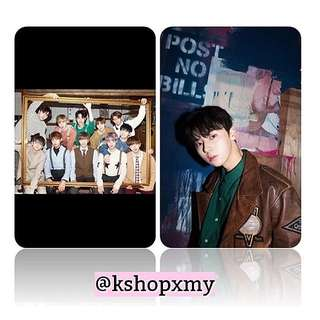 Wanna One 100 Different Photocards