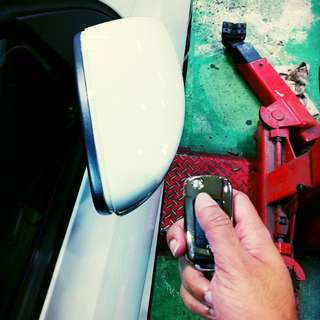 VW Scirocco Folding Mirror Tweak Done