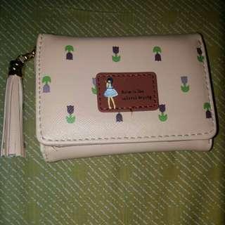Jimshoney pandora wallet (cream)