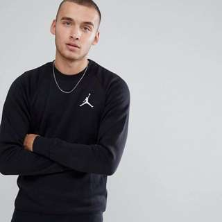 🚚 Nike Jordan 大學T 內刷毛 正版asos購入 黑色 Flight Sweat In Black