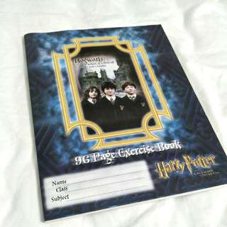 NEW Harry Potter 96 Page Exercise Book - Notebook, Journal, School, Lined