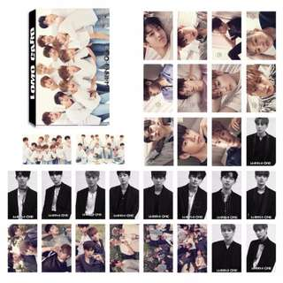 wanna one lomo card 30 pcs