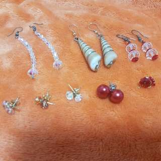 Earrings Set of 8