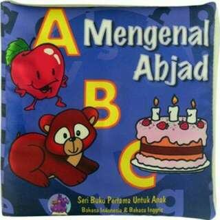 Mainan edukasi anak buku bantal mengenal abjad