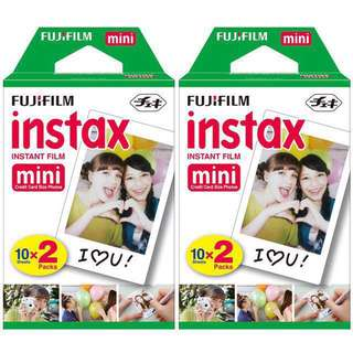 Instax Plain Film (Twin packs)