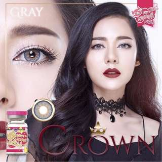 Crown Series Contact Lens - Gray/Brown