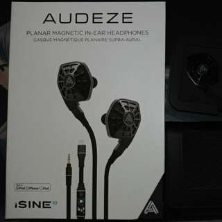Selling Good Condition Audeze iSine 10