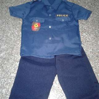 Policeman Career Costume for Kids