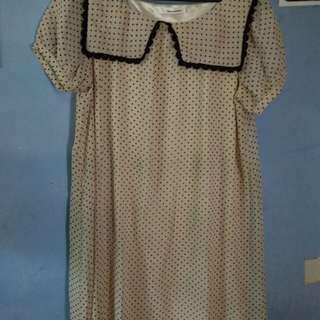 Dress mini polka