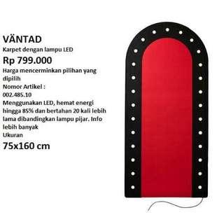 Ikea Vantad Rug with Led