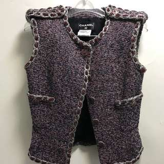 Chanel Tweed Vest