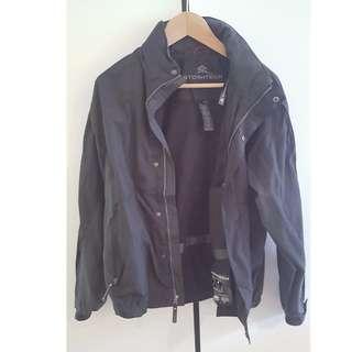 STORMTECH Windbreaker Black Jacket Size 8-10