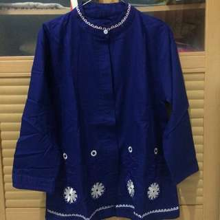 Bordir Navy Top