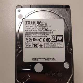 1TB SATA 2.5 Hard Disk Drive (Hard drive)