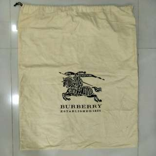 Authentic Burberry dust bag