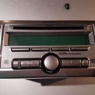 Used car radio, CD player, Toyota Altis