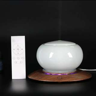 Difuser Humidifier Ionizer / Changing in 6 Colors/ Ceramic and with remote control