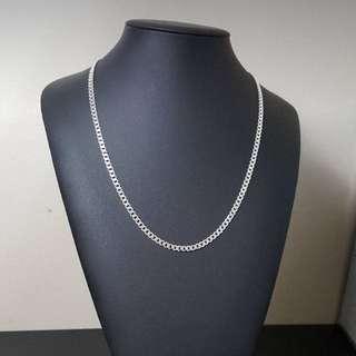 Italian Sterling Silver Cuban Chain