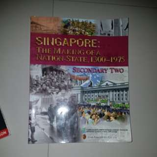 secondary 2 two history book
