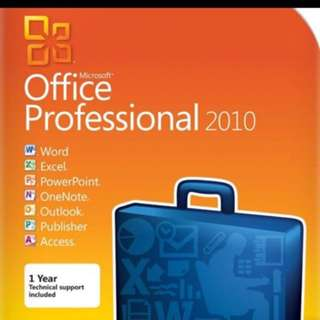 MS OFFICE 2010 PROFESSIONAL BRAND NEW SEALED