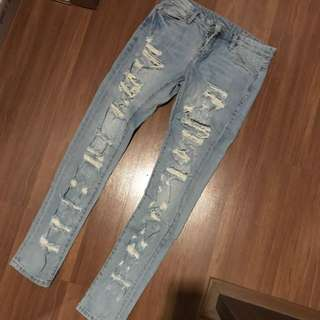 NEW YORK ripped jeans from USA