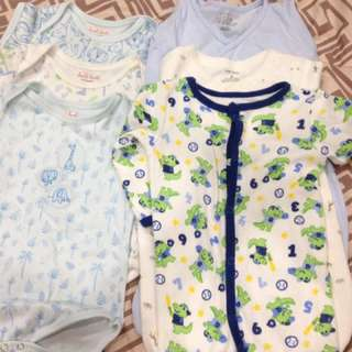 Take All cutee onesies  n frogsuits for 0-3 months