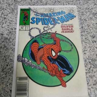 Marvel comics the amazing spiderman 301