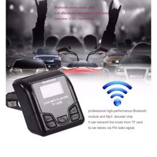 Car mp3 player and bluetooth