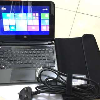 HP Pavilion 10 TouchSmart with Windows 8.1 and Office 2013