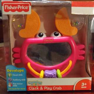 Fisher-Price Clack & Play Crab
