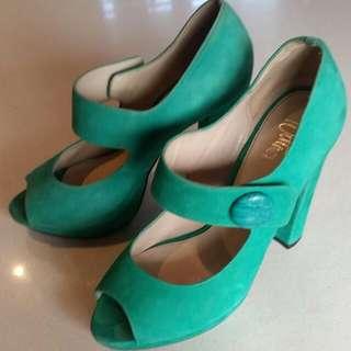 Wittner Aqua Heels Size 36