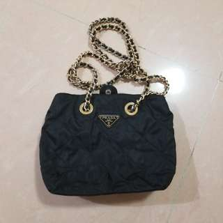 Prada vintage chains bag