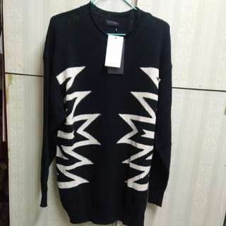 Zara 男裝長袖sweater