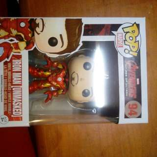 Funko POP ( Iron Man < Unmasked> )