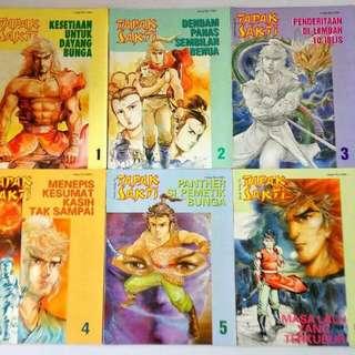 Komik Langka Tapak Sakti 1-100 & Tapak Sakti Legend Continues 1-44