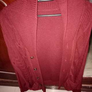 Outwear maroon