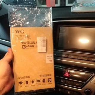 Elantra AD 8 inch 9H glass screen protector.