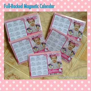 Personalized Magnet Calendar